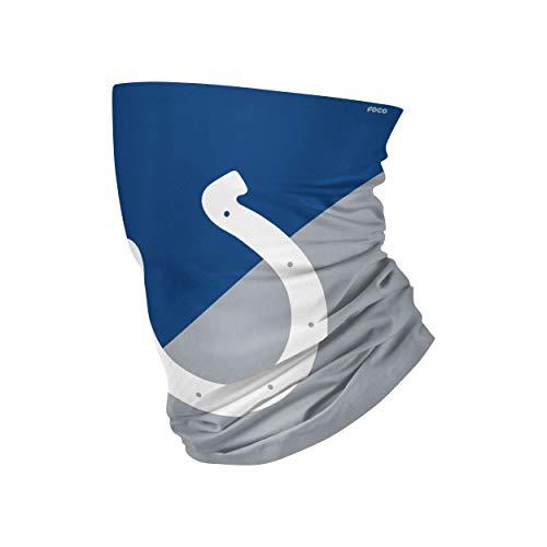 FOCO Indianapolis Colts NFL Big Logo Gaiter Scarf