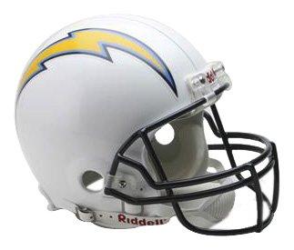 NFL San Diego Chargers Full Size Proline VSR4 Football Helmet