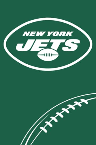 New York Jets: New York Jets Notebook & Journal & Composition Book & Logbook College Ruled 6x9 110 page   NFL Fan Essential   Football Fan Appreciation