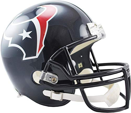 Riddell Houston Texans VSR4 Full-Size Replica Football Helmet - NFL Replica Helmets