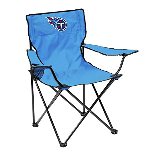 Logo Brands 631-13Q Titan NFL Tennessee Titans Quad Chair, One Size, Blue