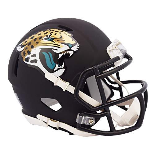 Jacksonville Jaguars NFL Black Matte Alternate Speed Mini Football Helmet