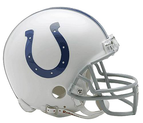 NFL Indianapolis Colts Replica Mini Football Helmet