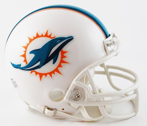 New Riddell Miami Dolphins VSR4 Mini Football Helmet