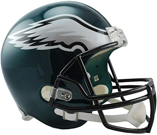 Riddell Philadelphia Eagles VSR4 Full-Size Replica Football Helmet - NFL Replica Helmets