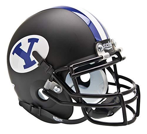 NCAA BYU Cougars Collectible Alt Mini Helmet, Matte Black