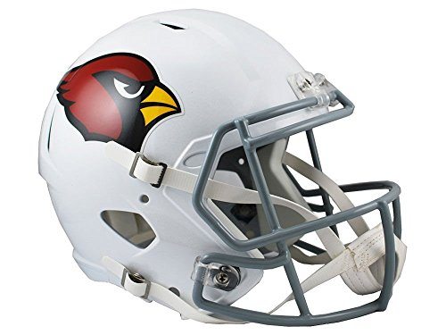 Riddell NFL Arizona Cardinals Full Size Replica Speed Helmet, Medium, Red
