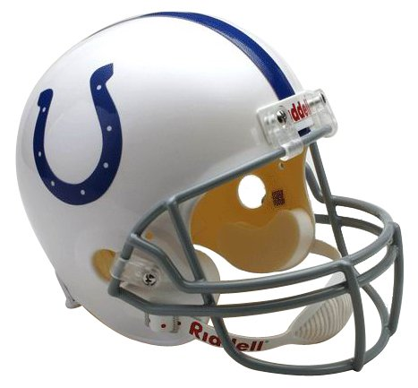 NFL Indianapolis Colts Deluxe Replica Football Helmet