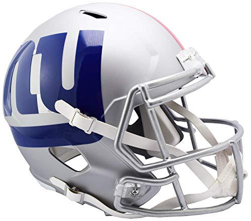 Riddell NFL New York Giants Full Size Replica Helmetamp Alternate, Team Colors, One Size