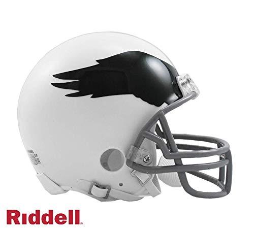 Philadelphia Eagles 1969-1973 Throwback Riddell Mini Football Helmet - New in Riddell Box