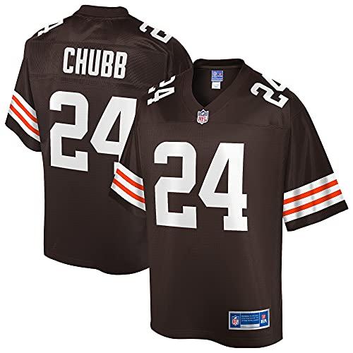 NFL PRO LINE Men's Nick Chubb Brown Cleveland Browns Team Player Jersey