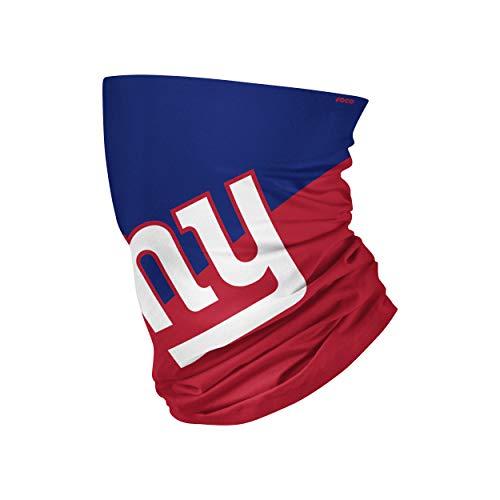 FOCO New York Giants NFL Big Logo Gaiter Scarf