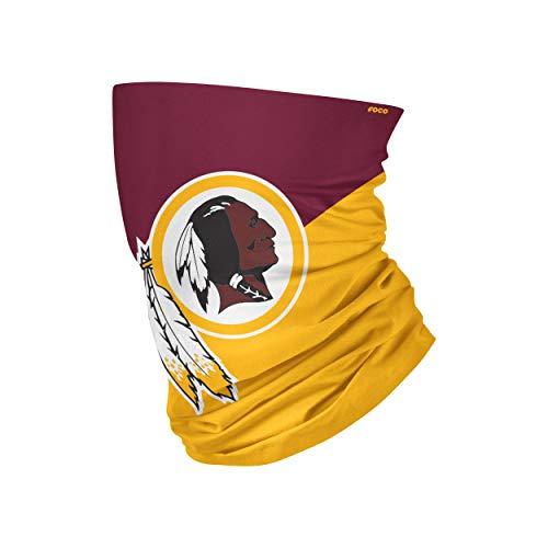 FOCO Washington Redskins NFL Big Logo Gaiter Scarf