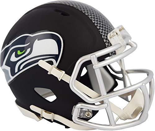 Riddell Seattle Seahawks Black Matte Alternate Speed Mini Football Helmet - NFL Mini Helmets
