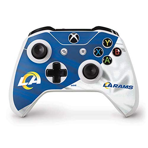 Skinit Decal Gaming Skin Compatible with Xbox One S Controller - Officially Licensed NFL Los Angeles Rams Flag Design