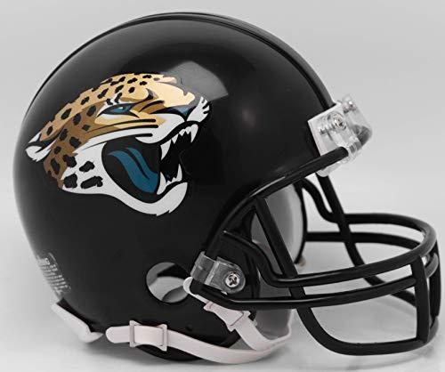 Riddell NFL Jacksonville Jaguars Helmet Mini VSR4Helmet Replica Mini VSR4 Style 2018, Team Colors, One Size
