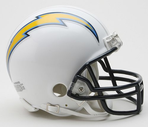 San Diego Chargers Riddell Mini Football Helmet - New in Riddell Box
