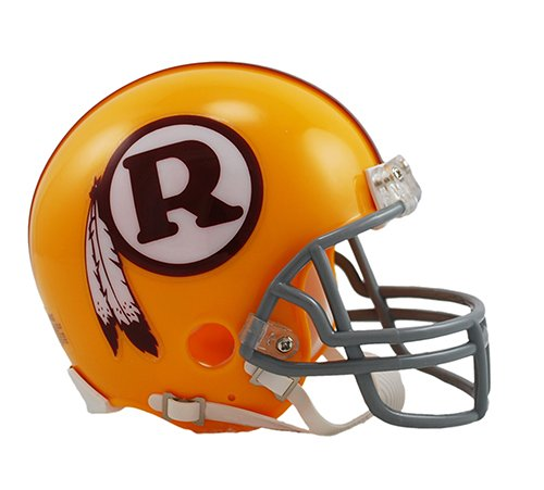 Washington Redskins 1970-71 Throwback NFL Riddell Replica Mini Helmet