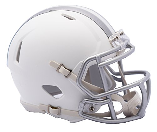 Riddell NFL Cleveland Browns Ice Alternate Speed Mini Replica, Silver, Small