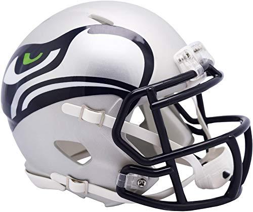 Riddell Seattle Seahawks AMP Alternate Revolution Speed Mini Football Helmet - NFL Mini Helmets