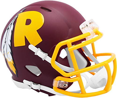 Riddell Washington Redskins AMP Alternate Revolution Speed Mini Football Helmet - NFL Mini Helmets