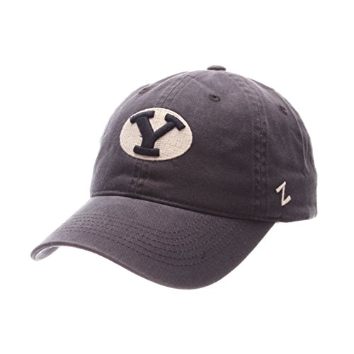 NCAA Zephyr Byu Cougars Mens Scholarship Relaxed Hat, Adjustable, Team Color