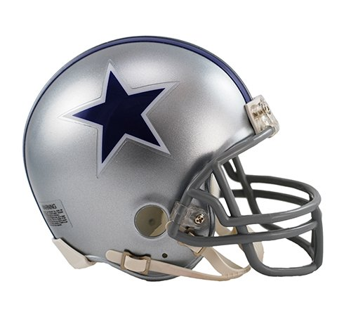 Dallas Cowboys 1964-1966 Throwback Riddell Mini Football Helmet - New in Riddell Box