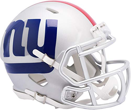 Riddell New York Giants AMP Alternate Revolution Speed Mini Football Helmet - NFL Mini Helmets
