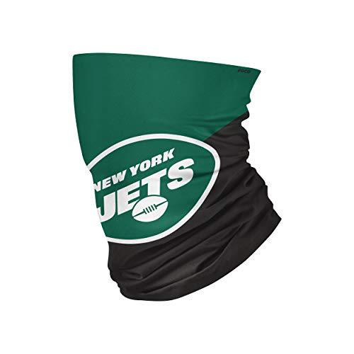 FOCO New York Jets NFL Big Logo Gaiter Scarf