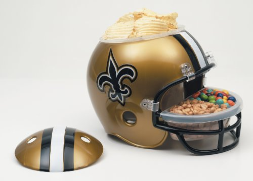 NFL New Orleans Saints Snack Helmet