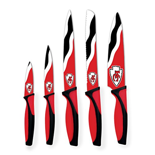 Sports Vault NFL Kansas City Chiefs Kitchen Knives