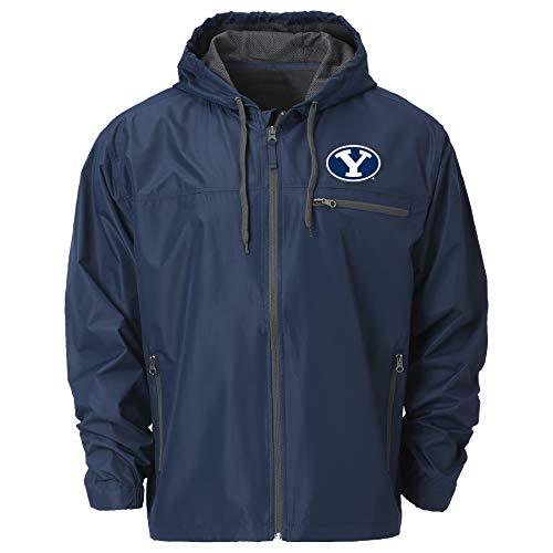 NCAA BYU Cougars Mens Venture Windbreaker JacketVenture Windbreaker Jacket, Depth, XL