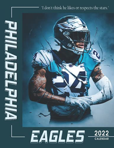 Philadelphia Eagles Calendar 2022: 18-month Calendar from Jul 2021 to Dec 2022 with size 8.5x11 inch for all fans