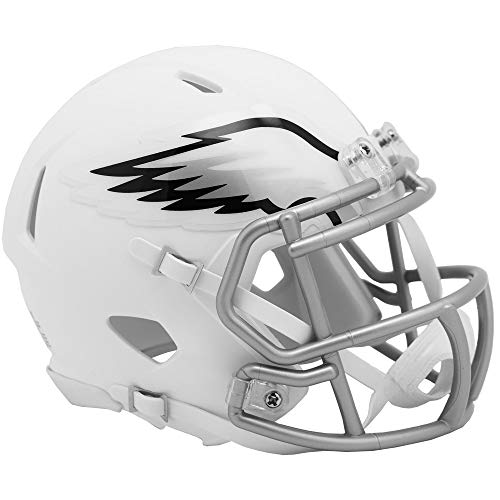 Riddell Philadelphia Eagles White Flat Matte Alternate Speed Mini Football Helmet
