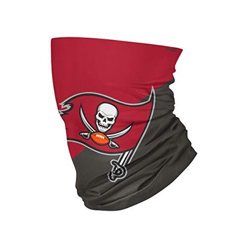 FOCO Tampa Bay Buccaneers NFL Big Logo Gaiter Scarf