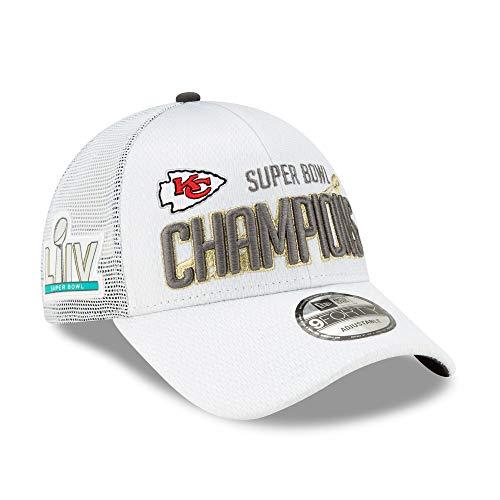 New Era Kansas City Chiefs 9Forty Super Bowl LIV Champions Locker Room Adjustable Hat