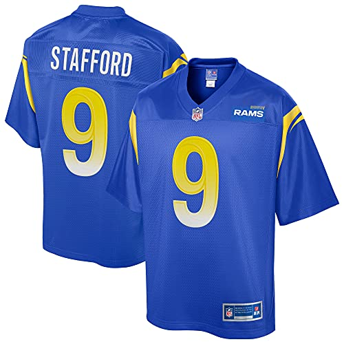 NFL PRO LINE Men's Matthew Stafford Royal Los Angeles Rams Replica Player Jersey