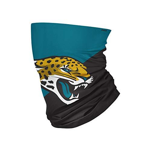 FOCO Jacksonville Jaguars NFL Big Logo Gaiter Scarf
