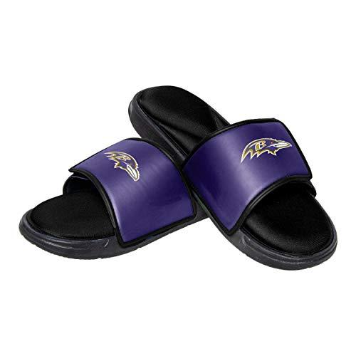 Baltimore Ravens NFL Mens Foam Sport Slide - M