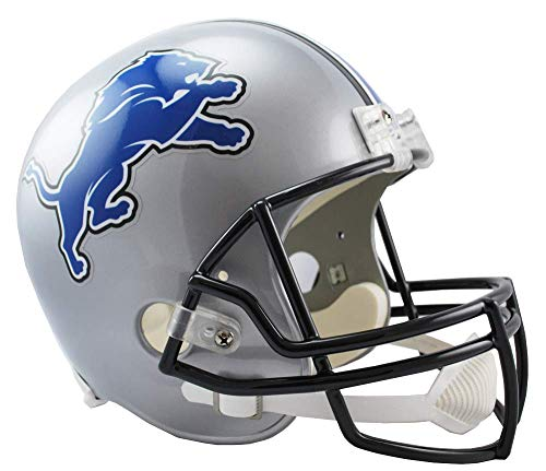 NFL Detroit Lions Deluxe Replica Football Helmet