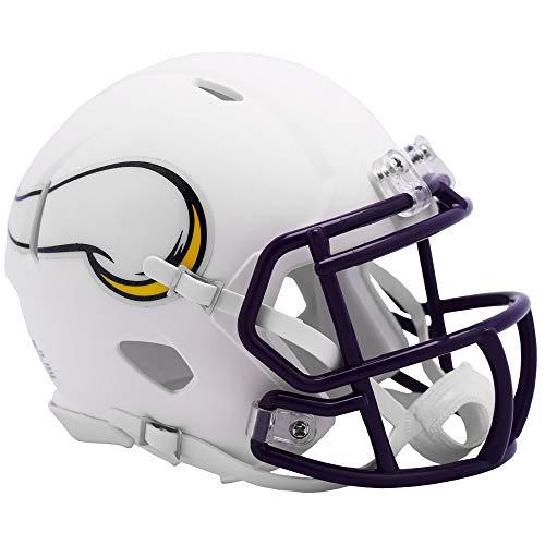 Riddell Minnesota Vikings White Flat Matte Alternate Speed Mini Football Helmet