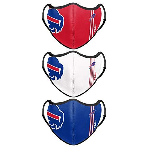 Buffalo Bills NFL Sport 3 Pack Face Cover