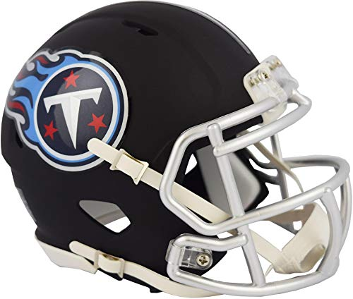 Riddell Tennessee Titans Black Matte Alternate Speed Mini Football Helmet - NFL Mini Helmets