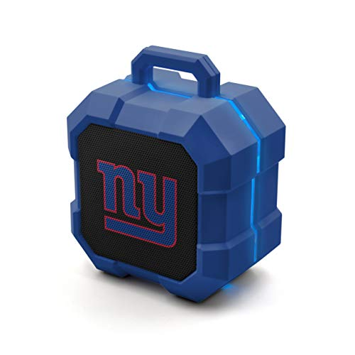 NFL Prime Brands Group ShockBox Bluetooth Speaker, New York Giants