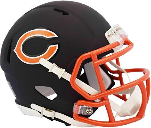 Riddell Chicago Bears Black Matte Alternate Speed Mini Football Helmet - New in Riddell Box