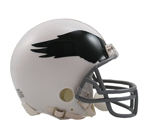 Philadelphia Eagles 1969-1973 Throwback Riddell Mini Football Helmet - New in Riddell Box