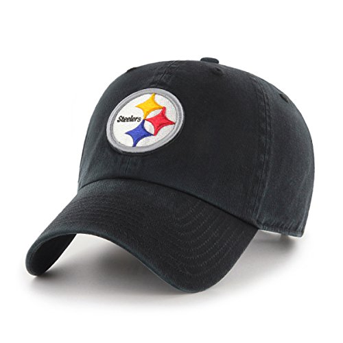 OTS NFL Pittsburgh Steelers Men's Challenger Adjustable Hat, Alternate Team Color, One Size