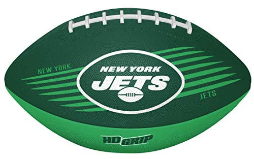 Rawlings NFL New York Jets 07731079111NFL Downfield Football (All Team Options), Green, Youth