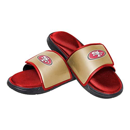 San Francisco 49ers NFL Mens Foam Sport Slide - XL