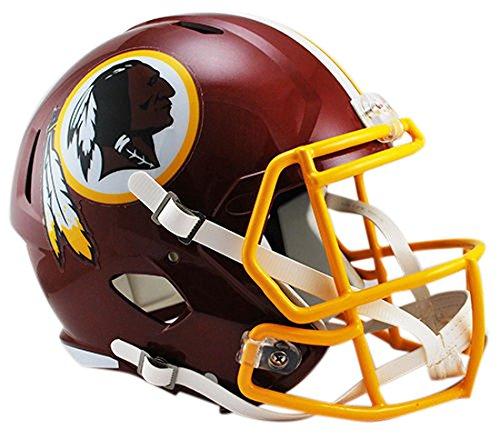 Riddell NFL Washington Redskins Full Size Replica Speed Helmet, Medium, Red